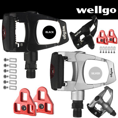 - Wellgo Road Bike Pedals Look ARC Compatible with Cleats