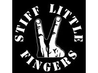 STIFF LITTLE FINGERS TICKETS FOR SALE