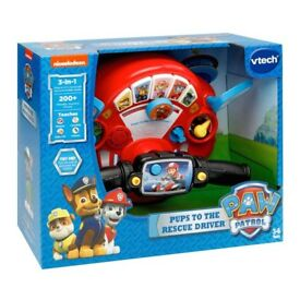 Paw Patrol Pups to the Rescue driver. Brand new in box.
