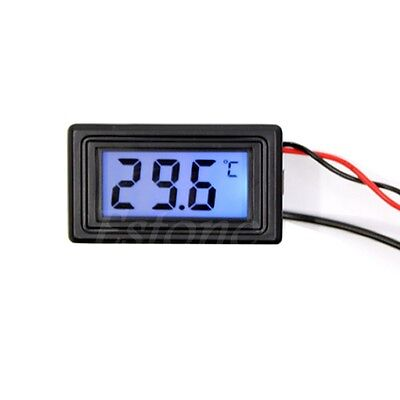 1x Wh5001 Celsiusfahrenheit Digital Thermometer Temperature Meter Gauge Cf New
