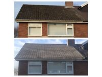 "Preasure washing,roofing gutters cleaned and repaired""properly"""