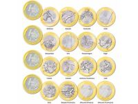 Brazil 1 Real 2016 Rio Olympics 16 Coins FULL Set and Exclusive Sleeve / Holder - FREE POSTAGE