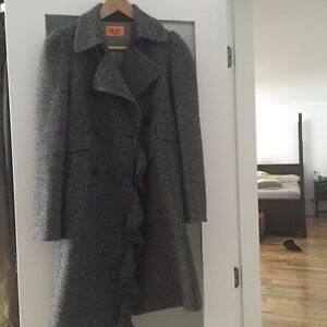 Juicy couture wool coat size S / 4