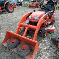 KUBOTA  BX1850 TRACTOR, LOADER AND MOWER