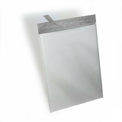 250 -19x24 White Poly Mailers Shipping Envelopes Bags 2.5 Mil 100 Recyclable