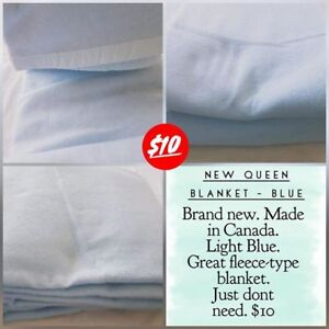 Blue Queen Blanket - NEW