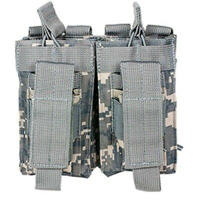 .223 5.56 7.62 Digital Double Police PALS MOLLE Rifle Magazine Pouch Holst ACU
