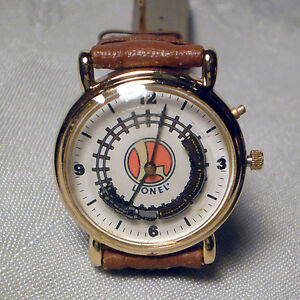 LIONEL COLLECTIBLE TRAIN WRIST WATCH WITH MOTION AND SOUND