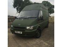 Ford Transit 350Lwb CAMPER (MOT MAY 18) £1995
