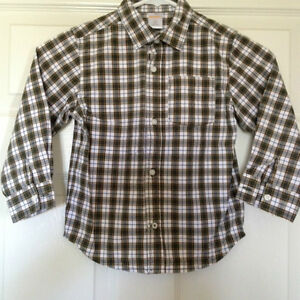 Boys Size 4 GYMBOREE long sleeved button up shirt