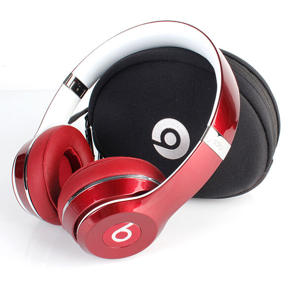 SOLO HD 2.0 DR. DRE BEATS WIRED RED ON EAR HEADPHONES FREE GIFT