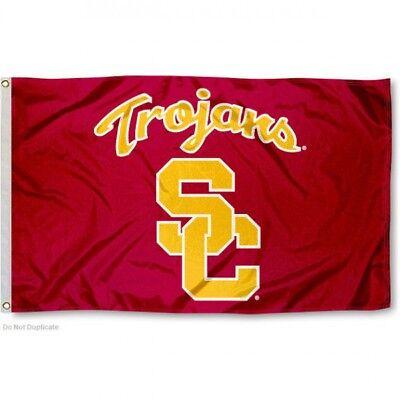 Usc Trojans Flag 3X5 Ncaa Southern Cal Banner