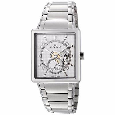 NEW Edox Les Bemonts Swiss Mechanical Watch 72012 3 AIN