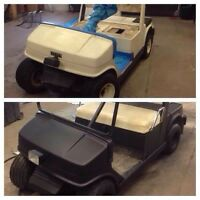 Plast Dip your Golf Cart