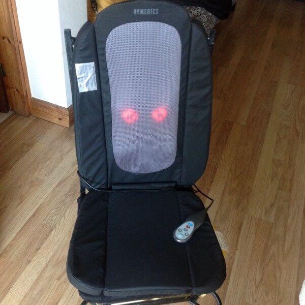 Homedics massage seat
