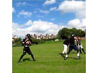 American football training in york