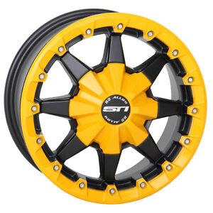 "STI HD5 BEADLOCK 14"" Rims Wheels CANADA ATV TIRE RACK"