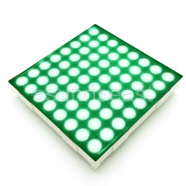 10 x Red & Green Two in One 5mm LED Dot Matrix Display Module Common Anode 8x8