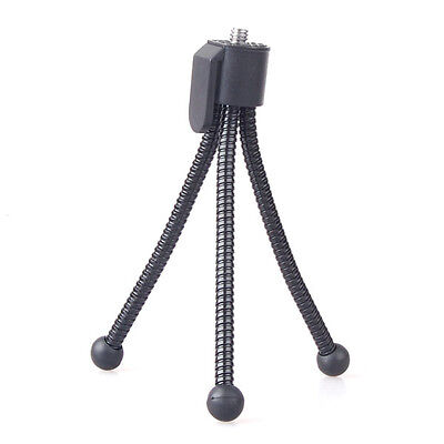 Neewer Black Small Bendable Flexible Spider Leg Tripod for Compact Cameras - Small Black Spider