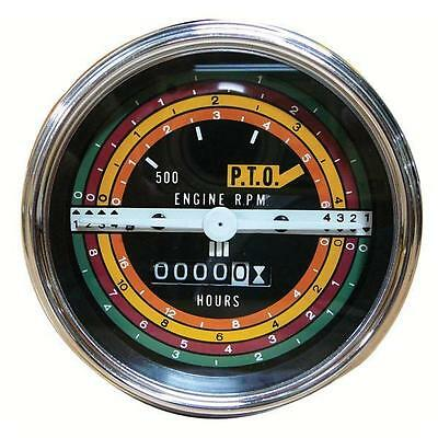 Ih International 424 444 2424 2444 Gas Tractor Tachometer Tractormeter 388893r9