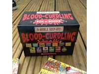 Blood curdling horrible history set -in great condition - 20 books - £ 15.00 new