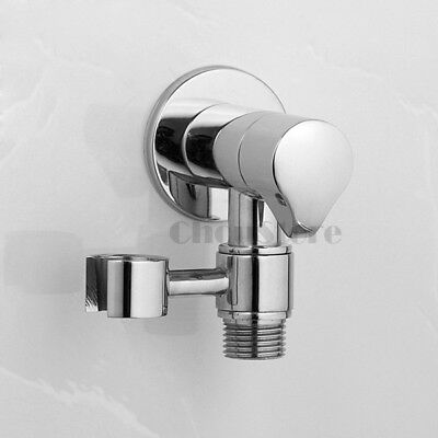 Bathroom Wall Valve Bidet Water Control Angle Stop Valve Swivel Shower - Wall Angle Stop