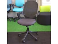 VERCO Graphite Salt and Pepper Chair