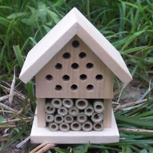 Make Build Your Own Insect House Bee Wasp Hive Ladybird