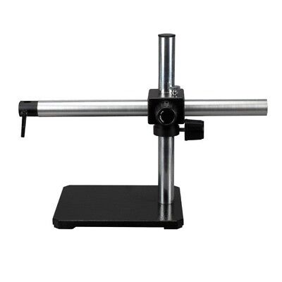 Single Arm Boom Stand For Stereo Microscopes - Steel Arm Pin Mount