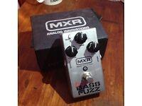 MXR M182 El Grande Bazz Fuzz Stomp Box Guitar Pedal