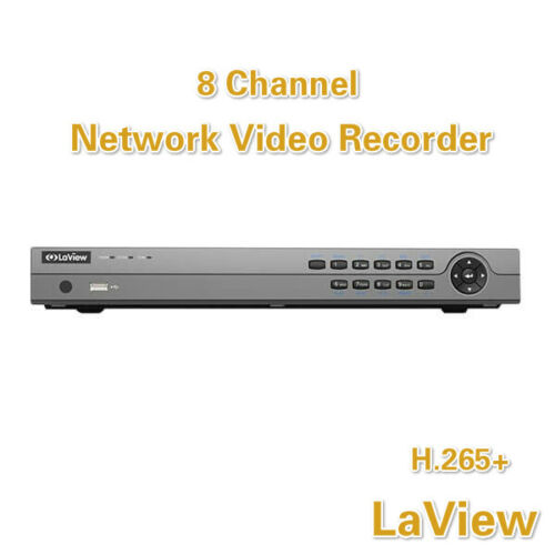 8 Channel 4K H.265 NVR Network Video Recorder for Hikvision Onvif IP POE Cameras