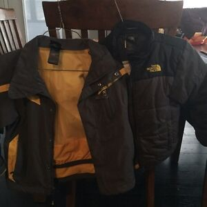 North Face 3 in 1 Winter Jacket Set