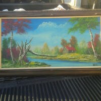 Beautiful Antique Oil Painting For Sale
