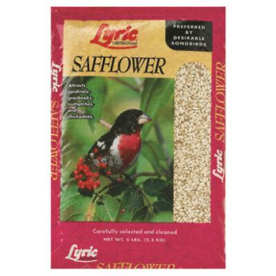 Lyric 26-47430 Golden Safflower Seed Wild Bird Food for Cardinals, 5 Lbs