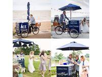 Vintage Ice Cream bike - ice cream trike - ice cream cart