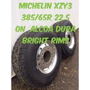 Big rig steer tires/rims  Prince George British Columbia image 1
