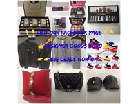 Selling Top Brand Clothes, Trainers, Handbags, Tracksuits, Makeup, Earrings And Loads More