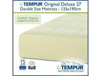 Good as new Double Tempur Mattress available now