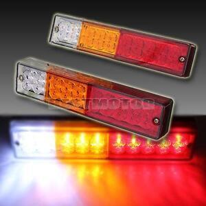 LED TAIL LIGHTS UTE CARAVAN TRUCK TRAILER STOP REVERSE BRAKE INDICATOR 12V 24V