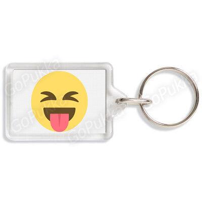 Toung Out Emoji – Cheeky Keyring