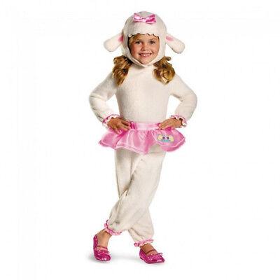 Disney Girl's Doc McStuffins Lambie Classic Toddler Costume | Disguise 69808 (Lambie Doc Mcstuffins Kostüme)