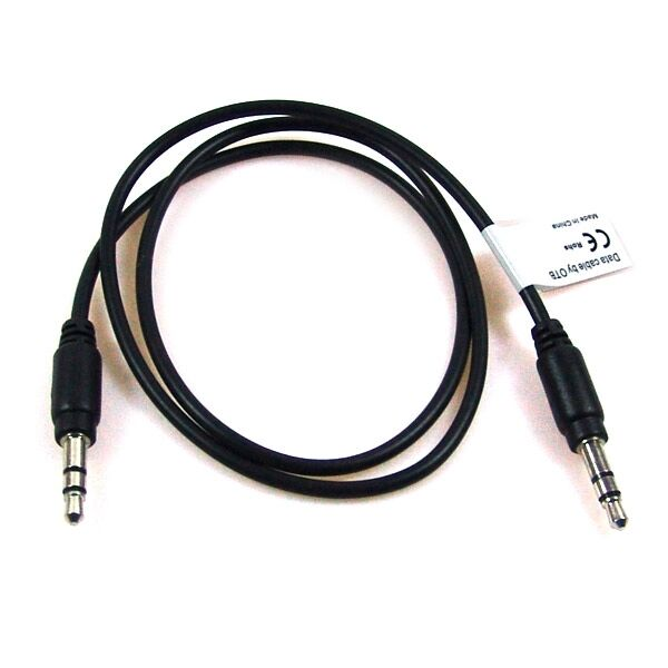 Audio Adapter A 3,5mm Plug to B 3,5mm plug for Apple iPhone 3G 3GS 4 5