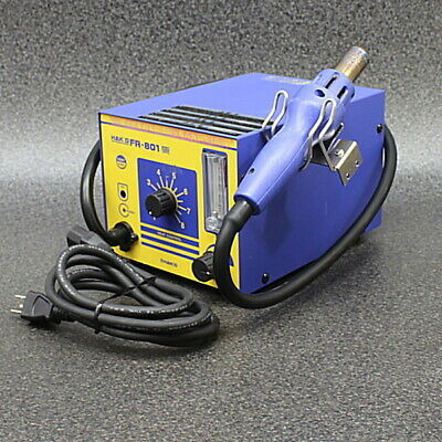 Hakko Fr-801 Hot Air Rework Station Tested Working Good Fs