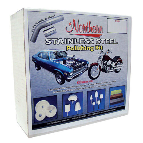 Northern Factory Z12455 Stainless Steel Polishing Kit