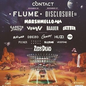 Contact music festival 2016 2 day general admission