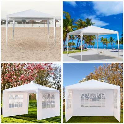 10'x10' Canopy Party Wedding Tent Heavy Duty BBQ Gazebo Pavilion Event Outdoor
