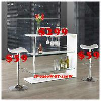 Discounts, tv tables, desks, make up vanities, stools, mini bars