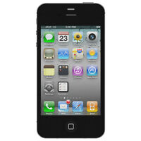 Apple iPhone 4S, 64GB Locked to Fido - Black, White Available