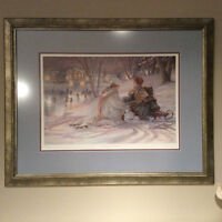TRISHA ROMANCE  LIMITED EDITION NUMBERED  PAINTING