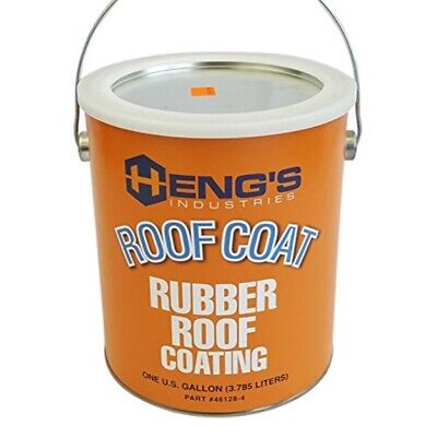 Hengs Rubber Roof Coating - 1 Gallon